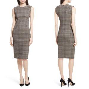 Theory Sleeveless Sheath Power Dress Hadfield